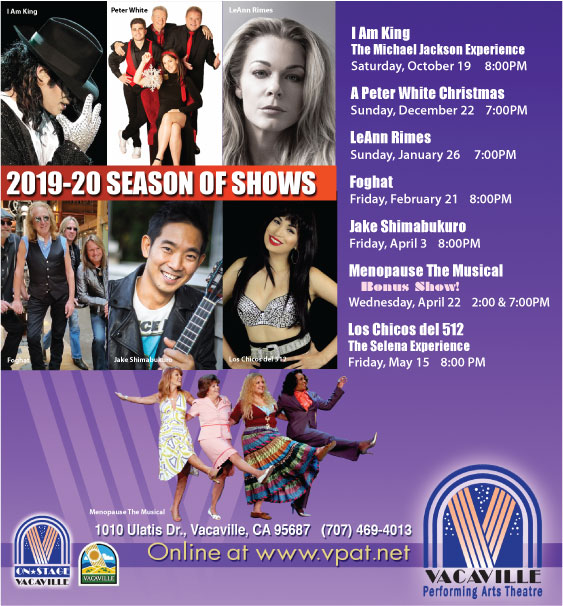 Season of Shows | Vacaville Performing Arts Theatre
